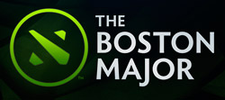 Major de Boston Dota 2 - Logo