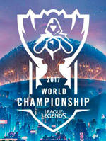 League of Legends LoL Campeonato Mundial 2017 - Logo