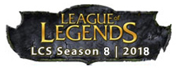 LCS League of Legends 2018 Logo