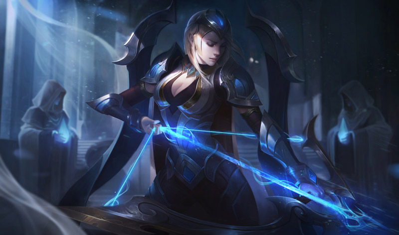 Ashe Campeonato League of Legends Splashart