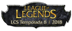 League of Legends LCS 2018 Logo Sidebard