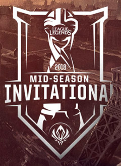 League of Legends Mid Season Invitational 2018 Torneo Logo