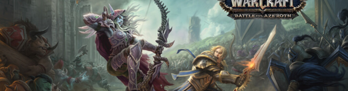 World of Warcraft Battle for Azeroth Apuestas eSports